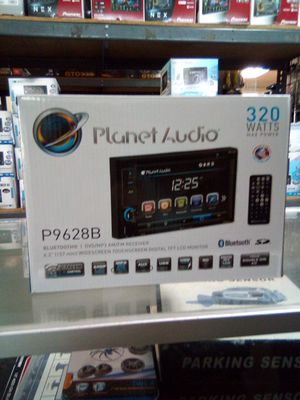 Double din planet audio for Sale in Las Vegas, NV