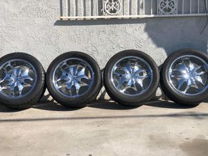 22s Wheels&tires obo for Sale in Los Angeles, CA