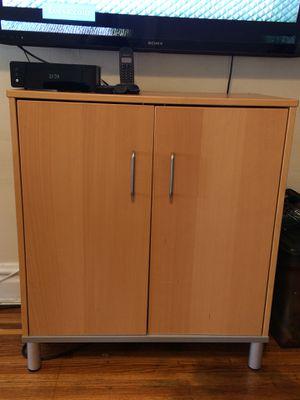 IKEA EFFEKTIV CABINET, Wood/Aluminum Leg Frame for Sale in Elizabeth, NJ