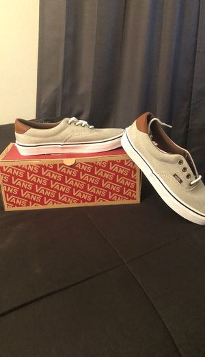 Brand new Grey Vans, Men size: 6, Women size: 7.5 for Sale in Fontana, CA