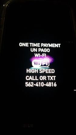Super high speed. In great excellent condition like new Modem with Internet and Router for wifi open box in great condition Wi-fi for Sale in Paramount,  CA