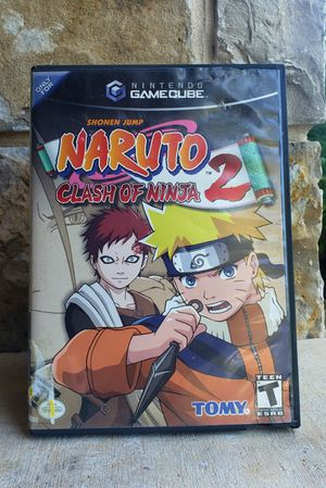 Naruto Clash of Ninja 2 Gamecube for Sale in Fort Worth, TX