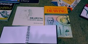 Drawing Books and drawing paper 3 for Sale in Murfreesboro, TN