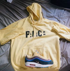 Palace bloc hoodie (sunshine yellow) RARE for Sale in Sunrise, FL