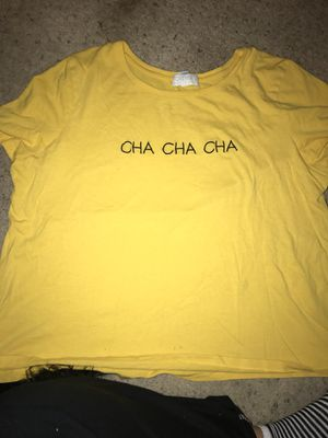 c7d01d044 forever 21 shirt plus size shirt yellow shirt for Sale in Bakersfield, CA