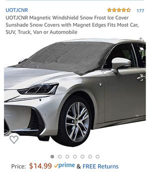 Magnetic Windshield Cover for Sale in Bluffdale, UT