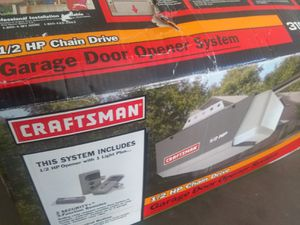 Crafstman garagedoor opening system for Sale in Phoenix, AZ