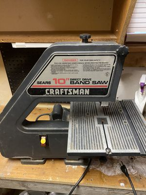 Craftsman band saw for Sale in Greenville, SC