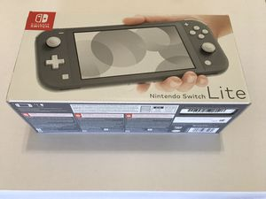Nintendo Switch Lite- Gray 32 GB, New and never removed from Box !! for Sale in Louisville, KY
