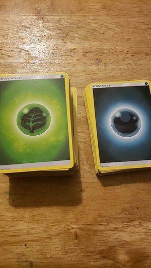 2017 pokemon energy cards for Sale in Los Angeles, CA