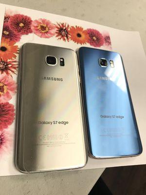 Samsung galaxy s7 edge 32gb unlocked each phone $220 for Sale in Everett, MA