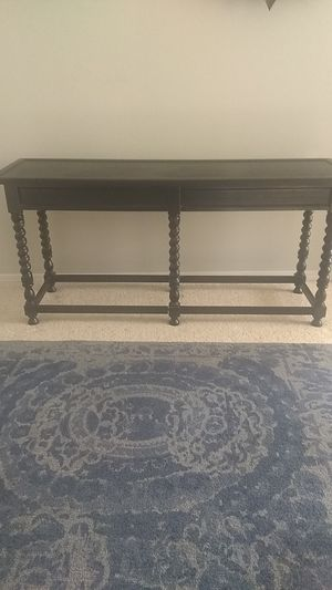 Pottery Barn Style Black Console Table for Sale in Hillsboro, OR