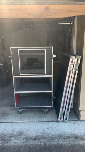 Dual Guitar Head ATA Road Case for Sale in San Jose, CA