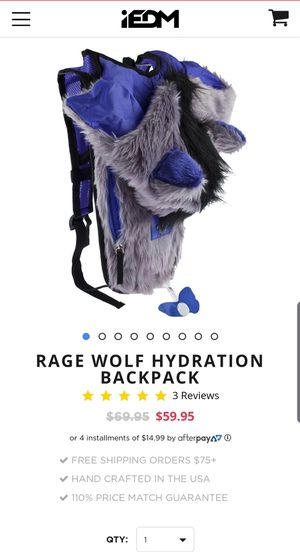 Rage Wolf Hydration Backpack for Sale in Perris, CA