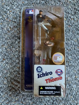 Ichiro / Thome 3 inch Mcfarlane two pack toy figure for Sale in Puyallup, WA
