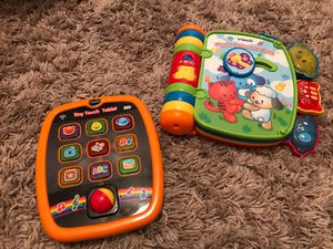 Vtech tablet and rhyme book for Sale in Peoria, AZ