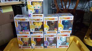 Dragonball z funko pops for Sale in Ceres, CA