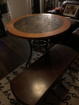 Kitchen table with 4 chairs 1 chair needs repair (screws) for Sale in Colfax, NC