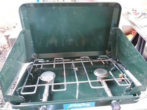 Camper stove coleman vintage good cond for Sale in Medford, OR