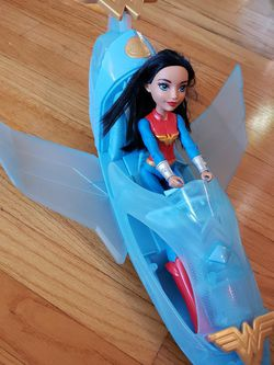 Wonder Woman Invisible Jet And Doll for Sale in Denver,  CO