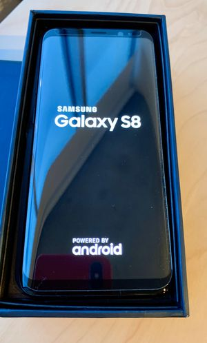 Samsung Galaxy S8 G950FD 64GB Midnight Black, Dual Sim, 5.8 inches, 4GB Ram, GSM Unlocked International Model for Sale in Chicago, IL