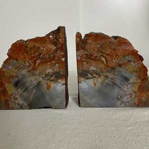 EXQUISITE PETRIFIED WOOD BOOKENDS for Sale in Menifee, CA