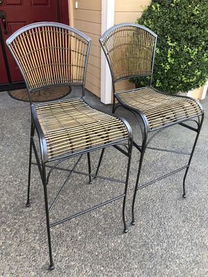 "Metal Height Barstool Chair Set 29"" for Sale in Turlock, CA"