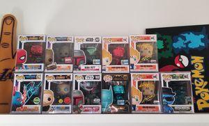 Funko Pop Exclusive Lot (Marvel + Dragonball Z + Star Wars + Breaking Bad) for Sale in Pomona, CA