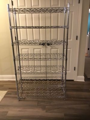 Stainless Wine Rack for Sale in Sterling, VA