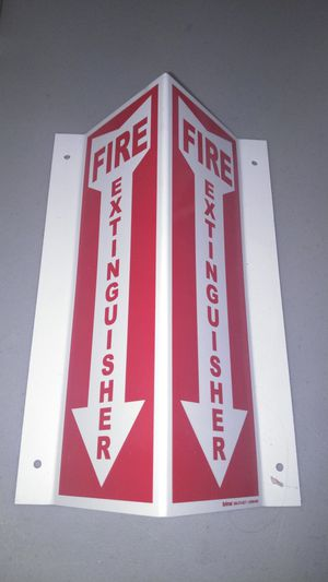 Fire extinguisher sign for Sale in Monroe, NC