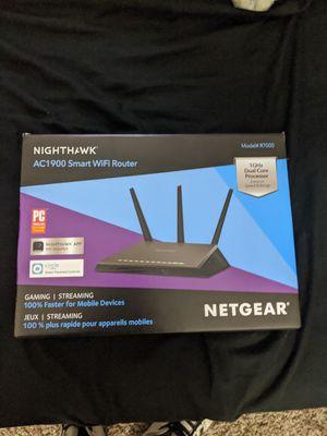 Netgear Nighthawk AC1900 smart Wifi Router gaming for Sale in Las Vegas, NV