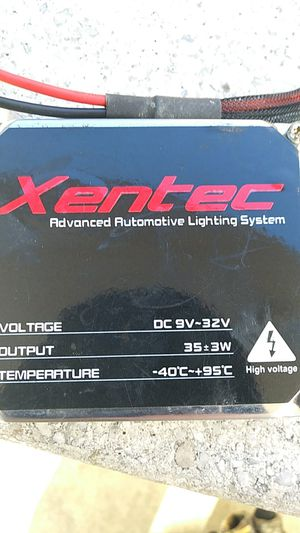 Xentec hid headlight box with wires for Sale in Harrisonburg, VA