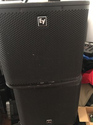 2 EV ZXA1 power Subwoofer for Sale in Boston, MA