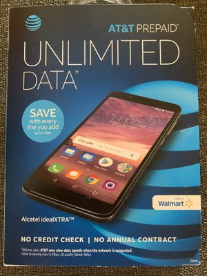 Alcatel idealXTRA - Prepaid AT&T phone for Sale in Visalia, CA