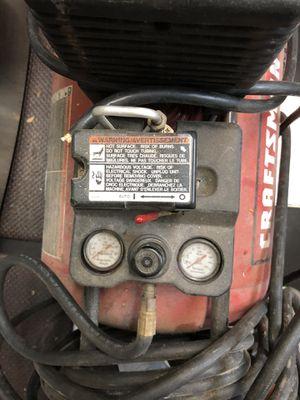 5HP 30 Gal Craftsman Compressor for Sale in Fort Meade, MD