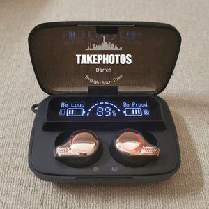 (B25) Bluetooth 5.1 True Wireless Touch Control Headphones Waterproof Earbuds Headset for Sale in La Habra Heights, CA
