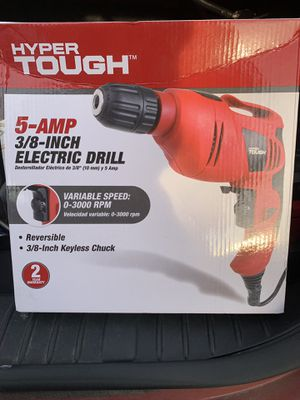 Electric drill 3/8 in for Sale in Tacoma, WA