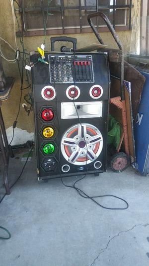 Karaoke machine. Dj equipment for Sale in Rancho Cucamonga, CA