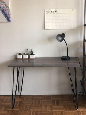 Desk, wooden top for Sale in Boston, MA