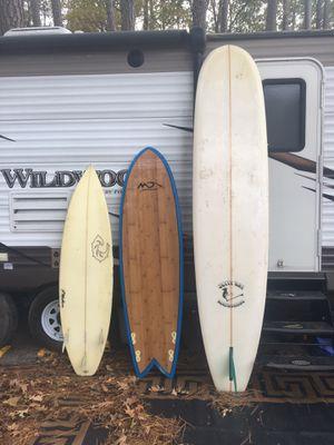6'8 quad fish ;6'2 shortboard for Sale in Chesapeake, VA
