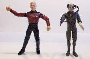 Star Trek Jean Luc Picard and Borg Action Figure for Sale in Surprise, AZ