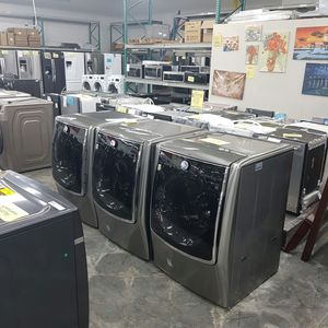 NEW LG King Size Washer Dryer FACTORY WARRANTY for Sale in Ontario, CA
