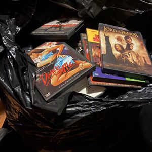 Large Bag Of Movies/DVDs/CDs for Sale in Whittier, CA