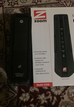 For sale 2 cable modem/ Motorola / zoom for Sale in Columbus, OH