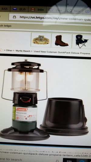 New Coleman lantern for Sale in Myrtle Beach, SC