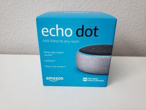 Amazon Echo Dot (3rd Gen) for Sale in Chula Vista, CA