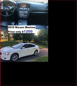 ֆ12OO_2010 Nissan Maxima for Sale in Lakebay, WA