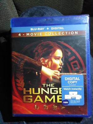 The hunger games 4 movie collection for Sale in Phoenix, AZ