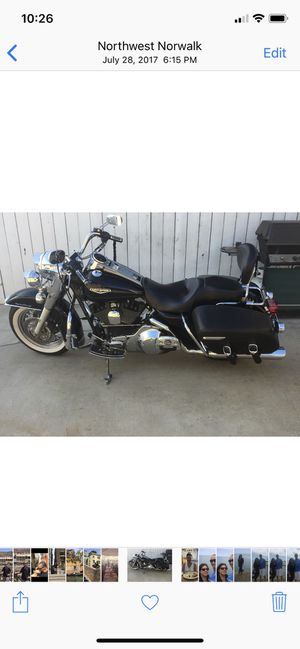 Harley Davidson Road king for Sale in Long Beach, CA