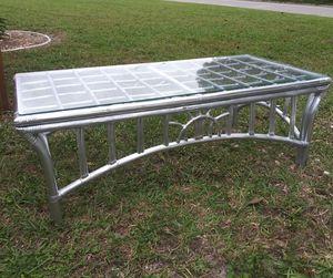 Beautiful Silver Coffee Table for Sale in Bradenton, FL